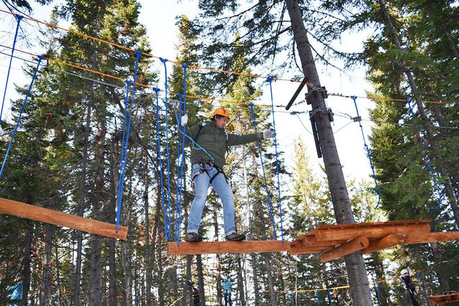 веревочный парк открылся в Байкальске