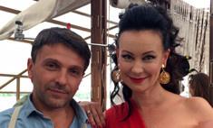 Нонна Гришаева отметила день рождения в Астрахани с Ксенией Собчак