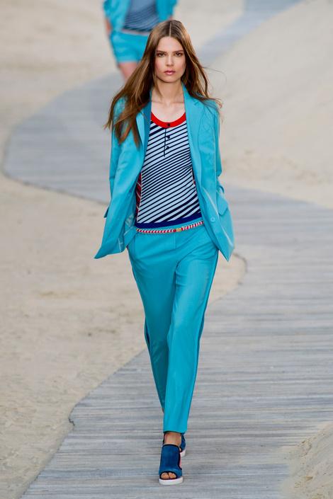 На нью-йоркской Неделе моды состоялся показ Tommy Hilfiger
