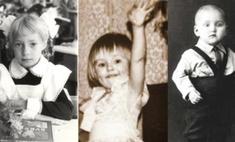 Угадай, кто: детские фото пермских звезд
