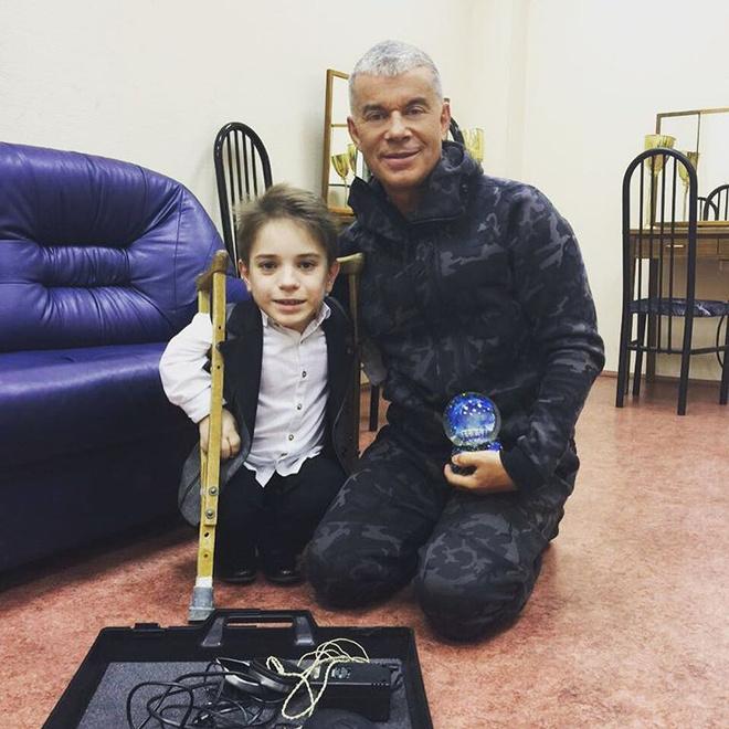 Данил Плужников стал лауреатом международной премии «Филантроп» в Москве
