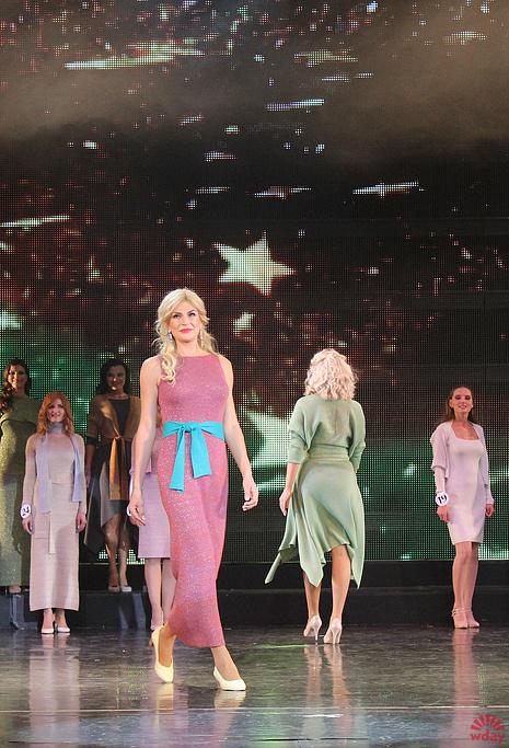 Оксана Кальмучина на финале конкурса, фото