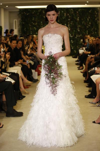 Показ Carolina Herrera на Неделе свадебной моды в Нью-Йорке | галерея [1] фото [10]