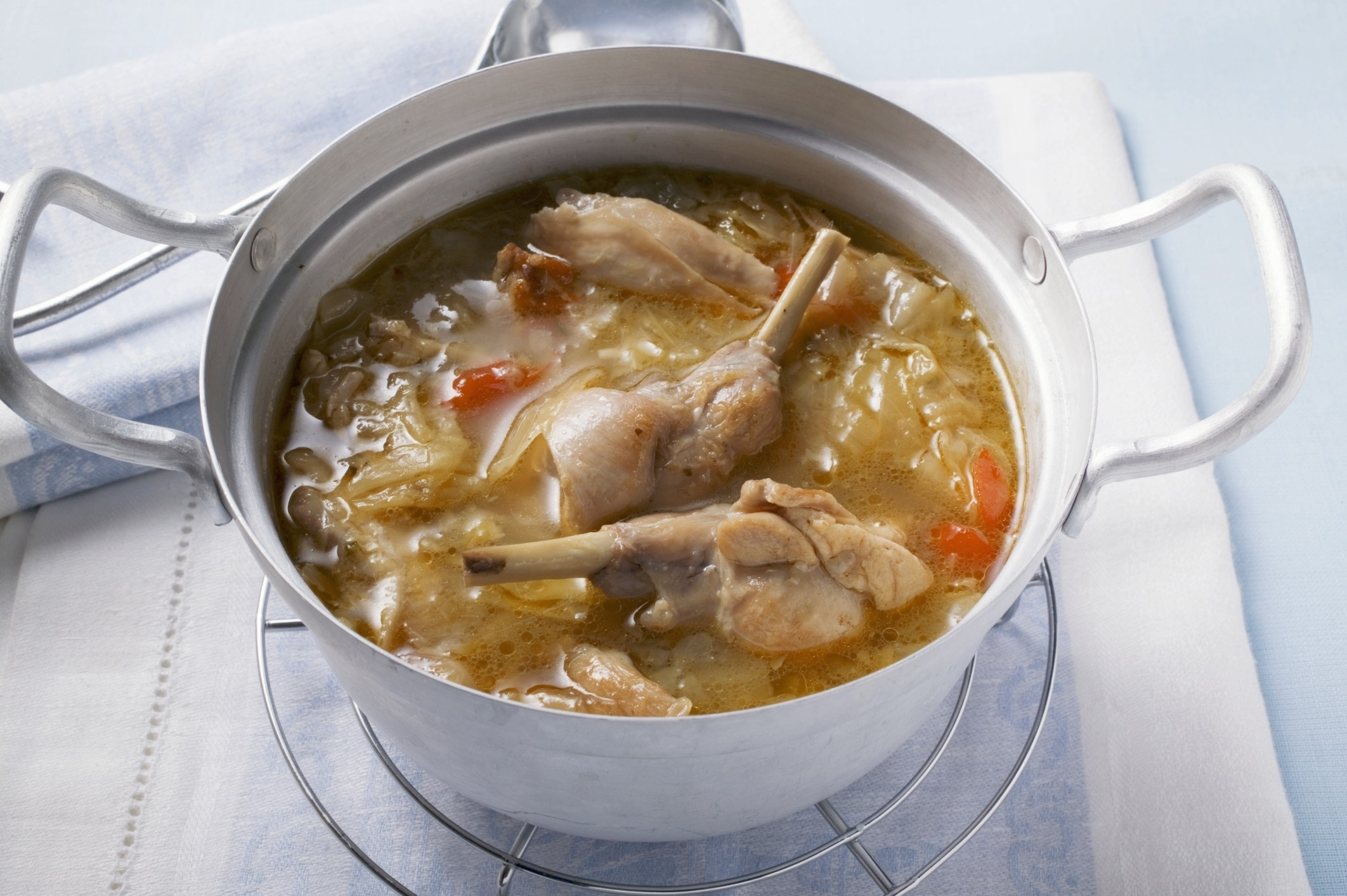 кролик суп рецепт