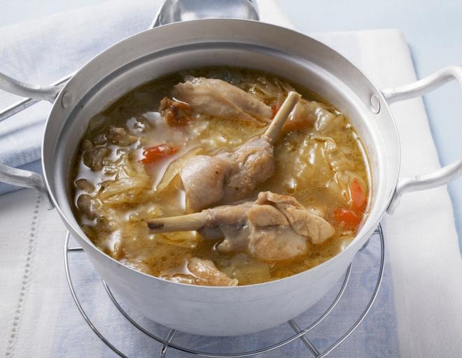 рецепт супа из кролика
