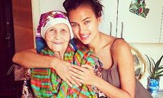 Ирина Шейк сделала тату с именем бабушки