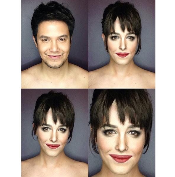 Филиппинский визажист перевоплотился в звезд с помощью макияжа   галерея [1] фото [16]