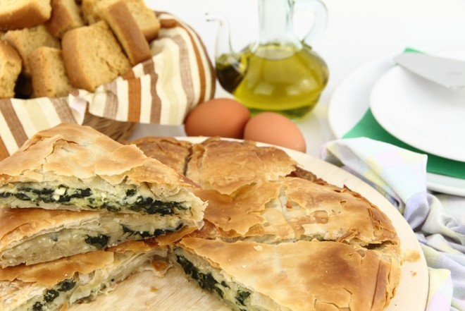 Рецепт деревенского пирога с фетой