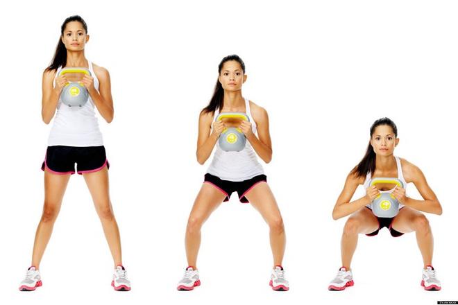 упражнения для ног для женщин