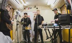 Егор Крид дал концерт в метро