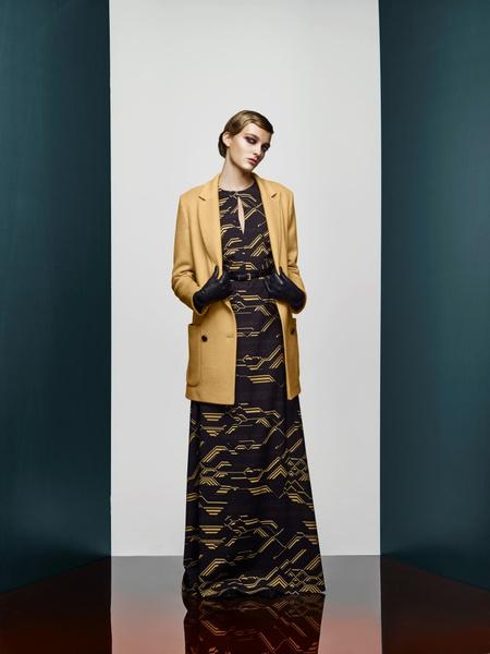 Хозяйка Медной горы: новая pre-fall коллекция A LA RUSSE Anastasia Romantsova   галерея [2] фото [26]