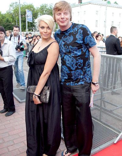 Андрей Григорьев-Апполонов и его жена Марина