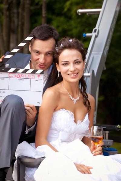 Свадьба с Аленой состоялась 1 августа 2009 года.