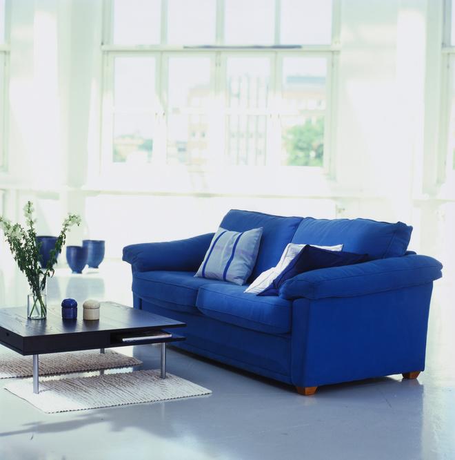 Цвет индиго фото, синий в интерьере