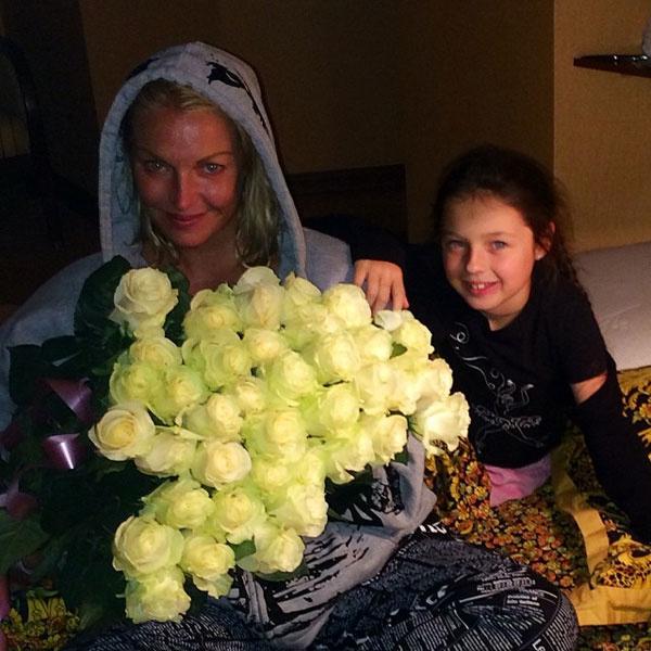 Анастасия Волочковой с дочерью Ариадной