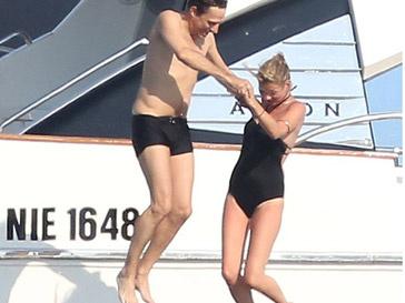 Кейт Мосс (Kate Moss) и Джейми Хинс (Jamie Hince)