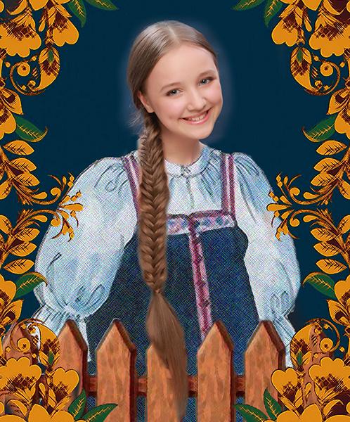София Важенина, «Уральская краса – русская коса», фото