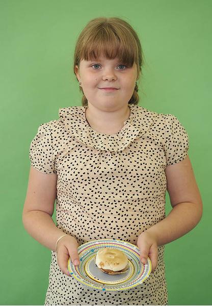 Анастасия Стахеева, участница кастинга «МастерШеф. Дети», фото