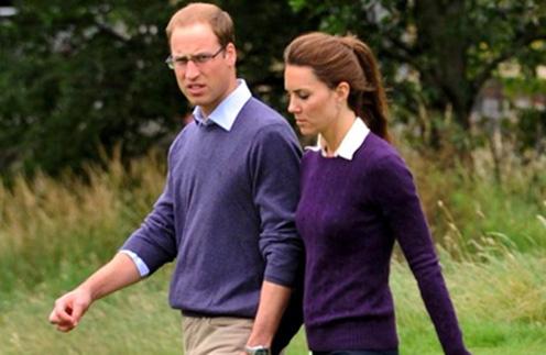 Кейт Миддлтон и принц Уильям наслаждаются свежим воздухом