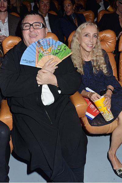 Альбер Эльбаз и Франка Соццани