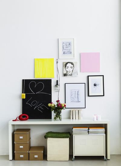 Декор стен, фото, своими руками
