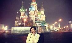 Милла Йовович совершила шопинг в Москве