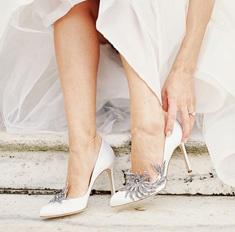 15 потрясающе красивых свадебных туфель Manolo Blahnik
