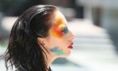 Леди ГаГа повторила макияж с показа Vivienne Westwood