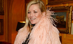 Кейт Мосс пришла в ночной клуб в пижаме