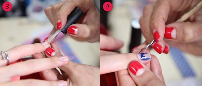 Как сделать лунки на ногтях из геля 263