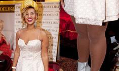 Модный провал: Корнелия Манго в образе развратной Снегурочки