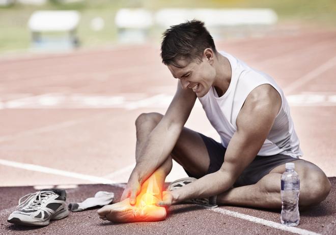 Растяжение ноги - что делать для облегчения состояния