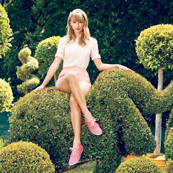 Тейлор Свифт в рекламе Keds
