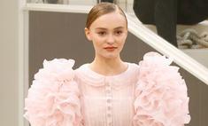 Лучшее с показа Chanel Couture: Лили-Роуз в свадебном платье