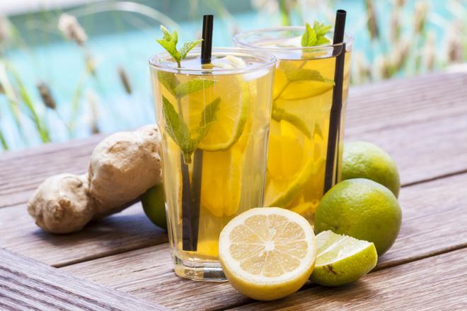 имбирь и лимон для похудения