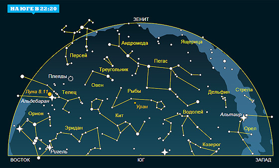 Фото №1 - Ночное небо: на что посмотреть в ноябре