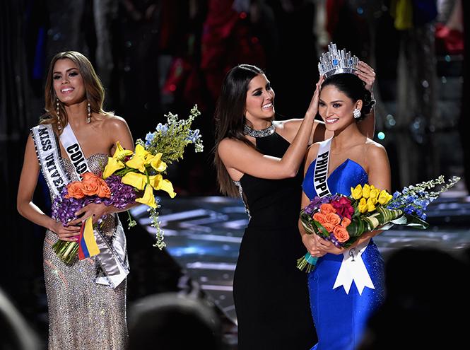 Фото №5 - На конкурсе «Мисс Вселенная 2015» корону вручили дважды