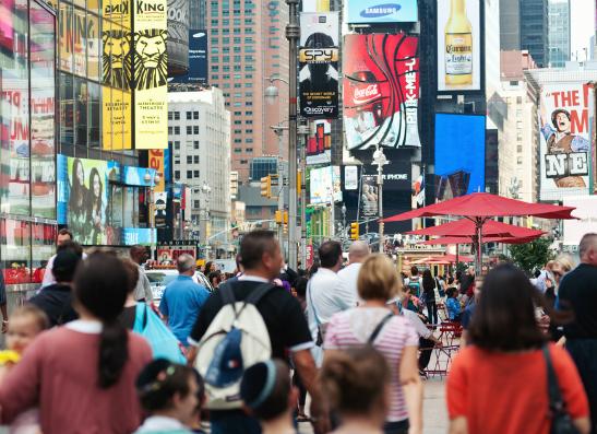 Фото №1 - Нью-Йорк: еда, джаз и fashion people под открытым небом