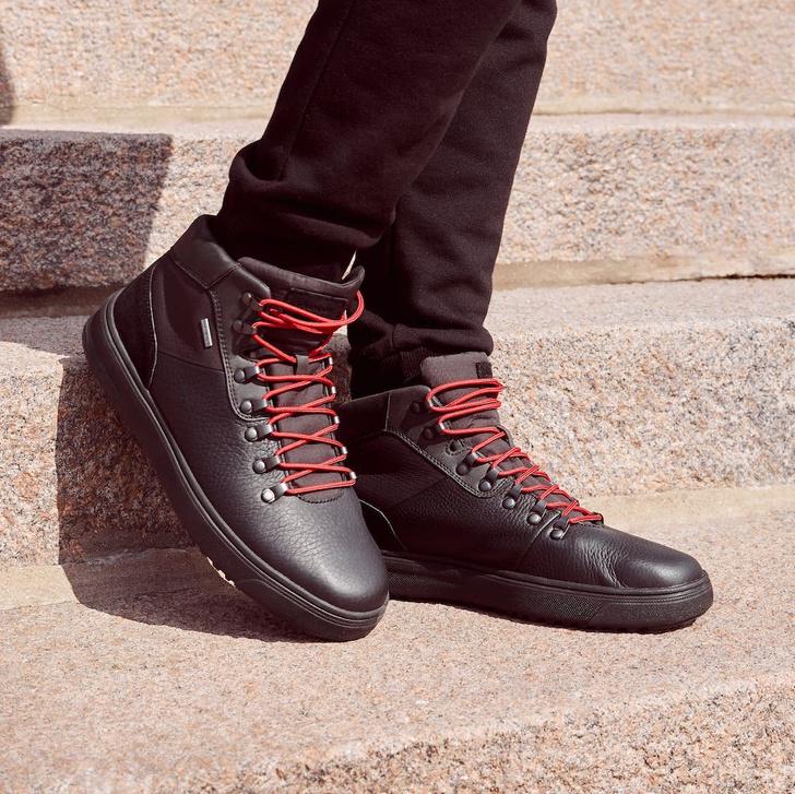 Фото №1 - Geox: мужская коллекция обуви с системой защиты от влаги осень-зима 2020/21