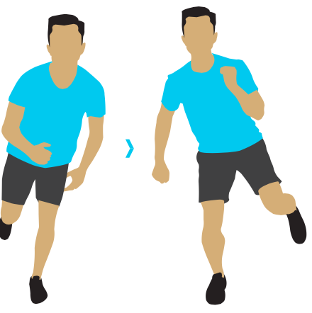 Прыжки конькобежца