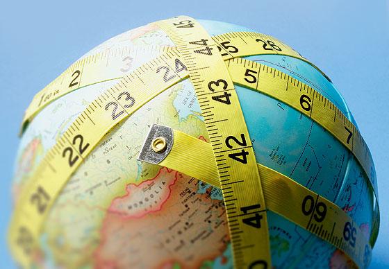 Фото №1 - Измеряя Землю