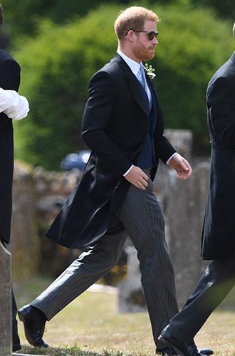 Фото №4 - Меган Маркл и принц Гарри на свадьбе друзей