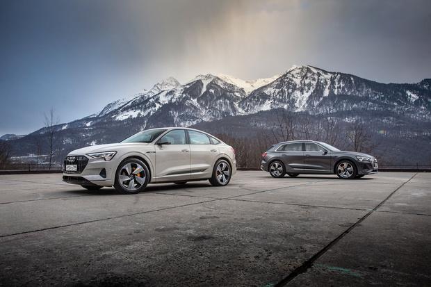 Фото №1 - Элегантный дизайн прогрессивных технологий: новый полностью электрический SUV Audi e-tron Sportback