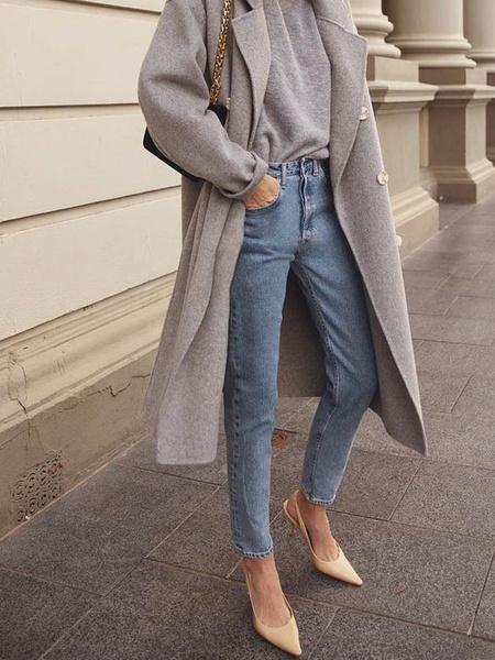 Фото №16 - Just wear it: 5 простых, но стильных осенних образов с джинсами