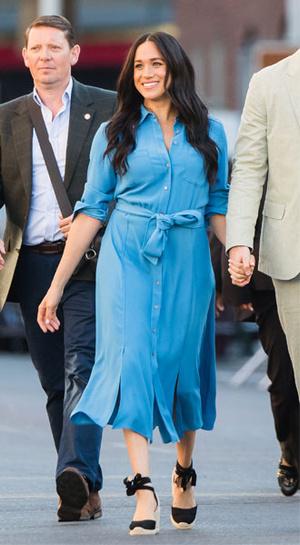 Фото №4 - Модный тандем: как Меган и Летиция вдохновляют друг друга на стильные эксперименты