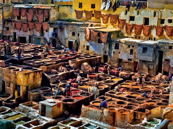 Фото №1 - Место дня. Рынок в Фесе (Марокко)