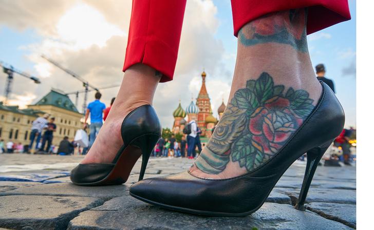 Фото №1 - Самые татуированные российские города: новейший рейтинг