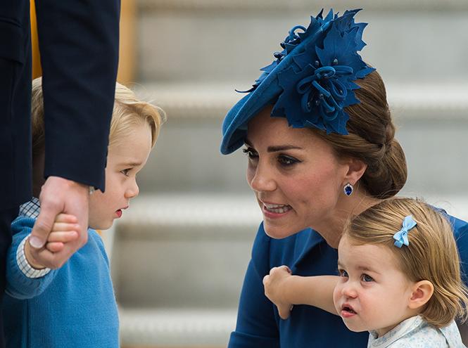 Фото №5 - Принц Джордж, принцесса Шарлотта и Кейт Миддлтон стали звездами канадского тура