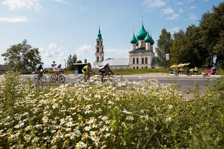 Фото №2 - В Москве стартовала самая протяженная шоссейная велогонка в мире