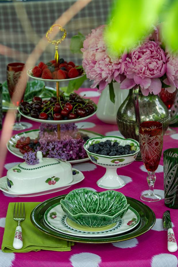 Фото №7 - Завтрак на траве: 10 правил красивой сервировки от Анны Муравиной